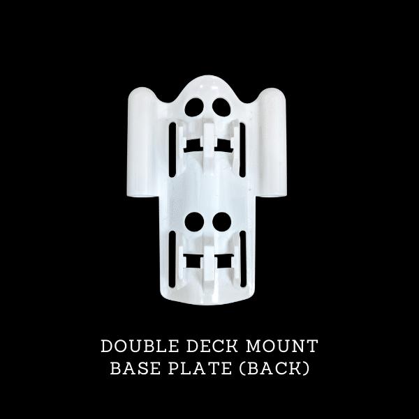 ProExtender Double Deck Mount Base Plate Back