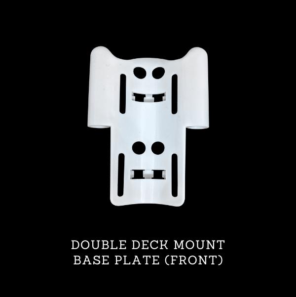 ProExtender Double Deck Mount Base Plate Front